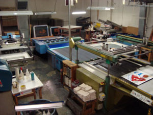 Nu-Art Graphics Printing Department